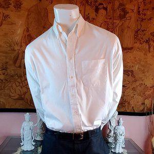 Great White Burberry of  London Dressy Shirt